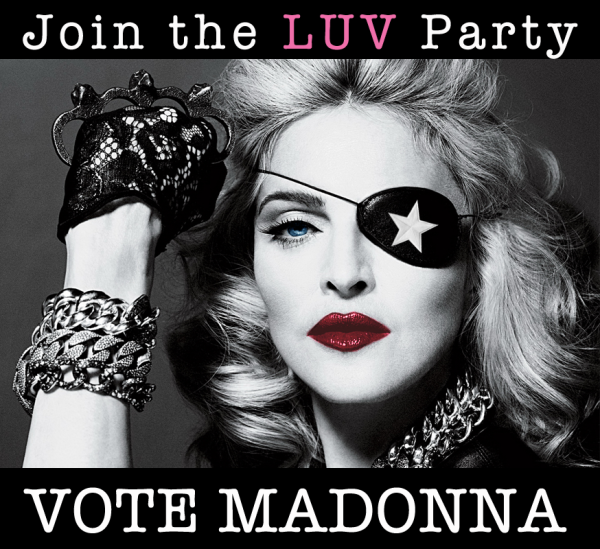 Vote Madonna